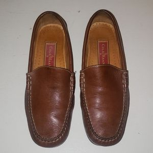 Cole Haan County style leather slip on loafers